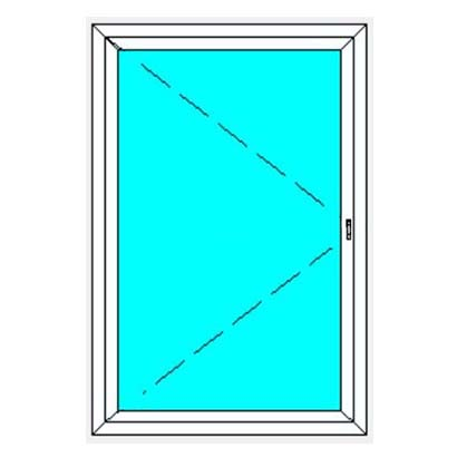 German Windows Aluminium Outward Opening