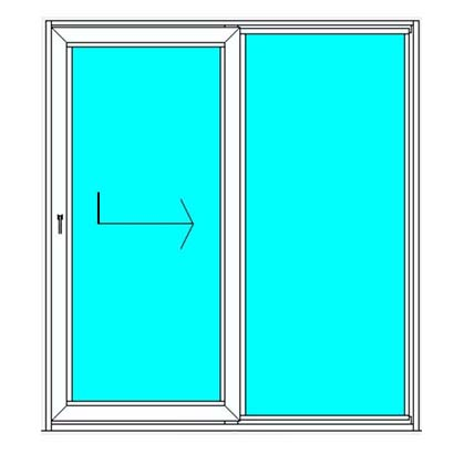 German Windows Aluminium Lift & Slide Door